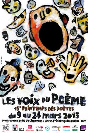 Printemps des Poetes 2013